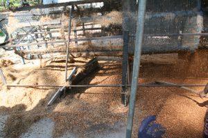 séparation fibre de coco coco peat substrat