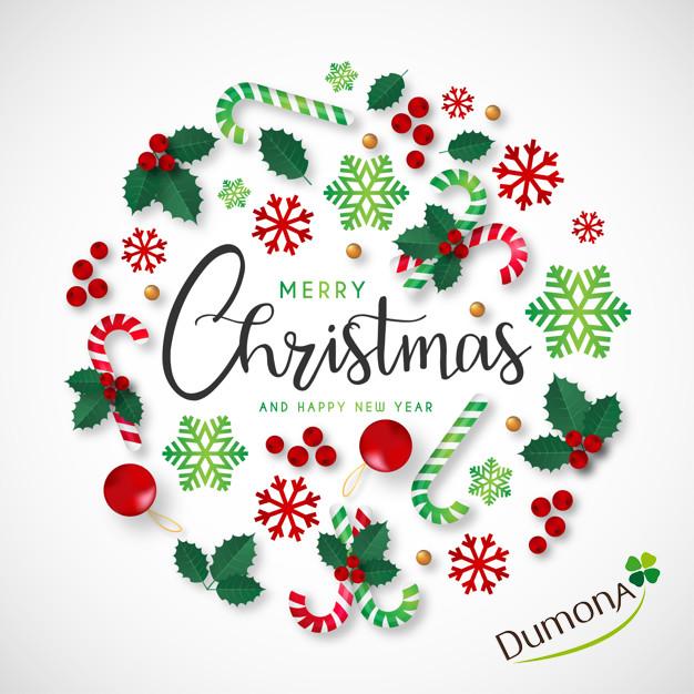Image De Joyeux Noel 2019.Joyeux Noel Et Bonne Annee 2019 Dumona